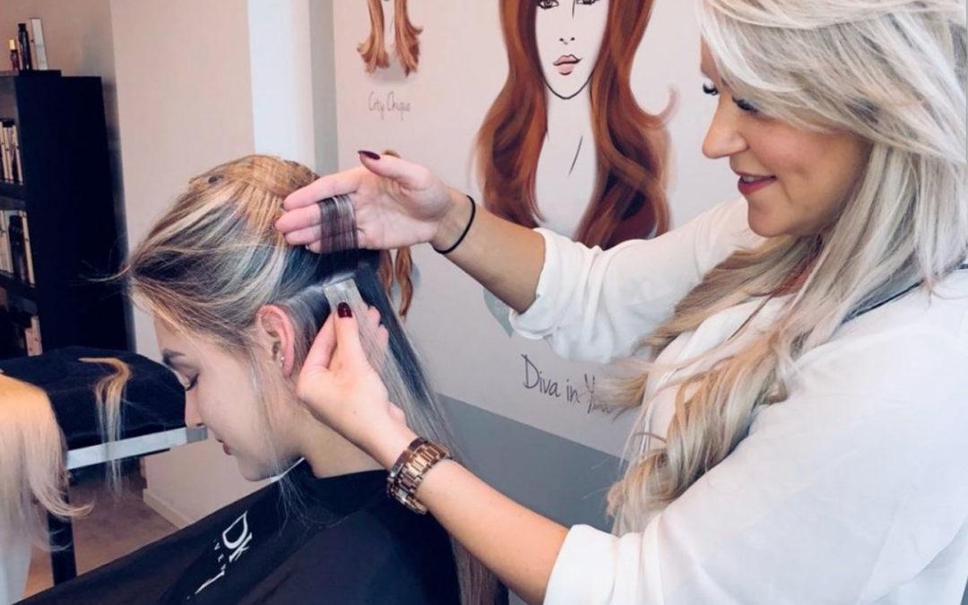 Hair extensions Hairtalk